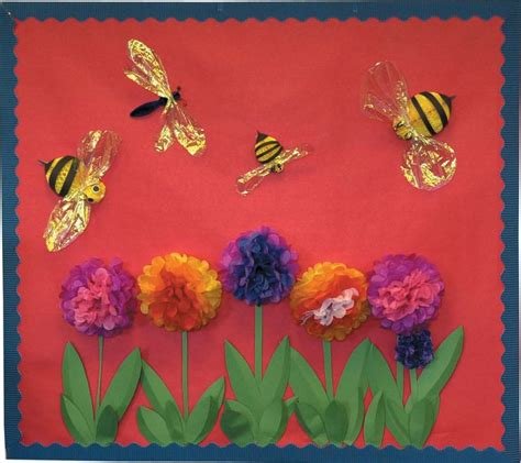 human resources bulletin board ideas flowers bumble