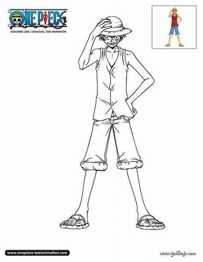 Luffy Coloriage Piece Dessin Imprimer Gratuit Colorear