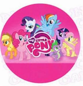 My Little Pony Edible Icing Cake Decor Topper – Bling Your