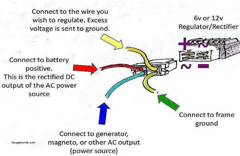 Image Result For Rectifier Regulator Wiring Diagram