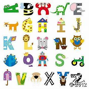 These new alphabet craft kits are a great way to help ...