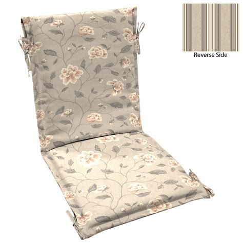 smith patio sling chair cushion clifton floral clifton stripe