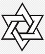 Six Point Star Drawing, HD Png Download - 1200x1200 ...