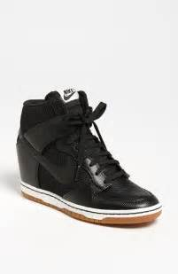 Nike Dunk Sky Hi Wedge Sneaker Black