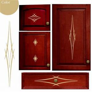 cabinet accents kitchen cabinet decorative decal stickers With what kind of paint to use on kitchen cabinets for how to print vinyl stickers