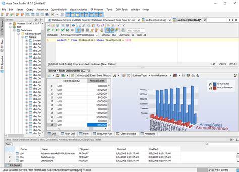 aqua data studio overview  developers aquafold