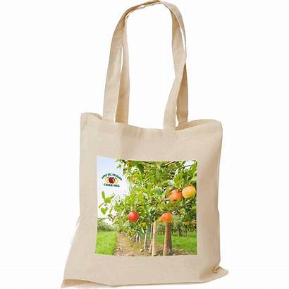 Tote Printed Bag Bags Cotton Natural Promotional