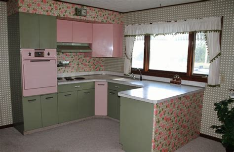 green and pink kitchen designs by vintage finds pink and green vintage 3959