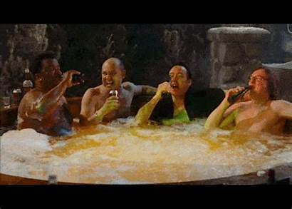 Tub Jacuzzi Gifs Machine Animated Giphy Drinking