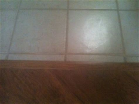 laminate to ceramic tile transition