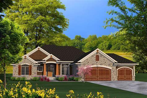 Plan 89939AH: Ranch House Plan with Craftsman Detailing