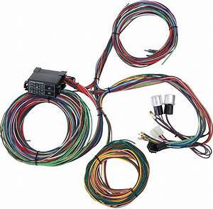 China Factory 12 Circuit Universal Street Rod Wire Harness