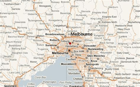 nice map  melbourne travelsmaps map melbourne