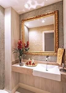 Mirroir Salle De Bain : 1001 id es pour un miroir salle de bain lumineux les ~ Dode.kayakingforconservation.com Idées de Décoration