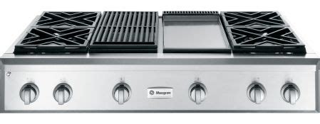 images  ge monogram zgungpss  professional gas cooktop  dual flame stacked burners