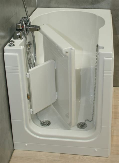 sierra compact front entry sitting bath practical bathing