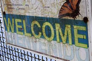 Welcome, Sign, Picture