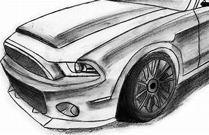 How to draw a Mustang - Speed Drawing [HD] | Drawings 'n ...