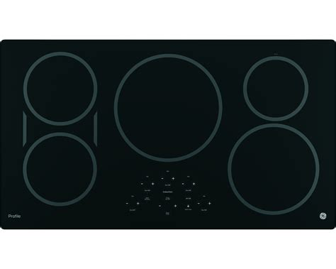 ge induction cooktop ge profile series php9036djbb 36 quot built in touch