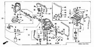 Honda Recon Carburetor Diagram