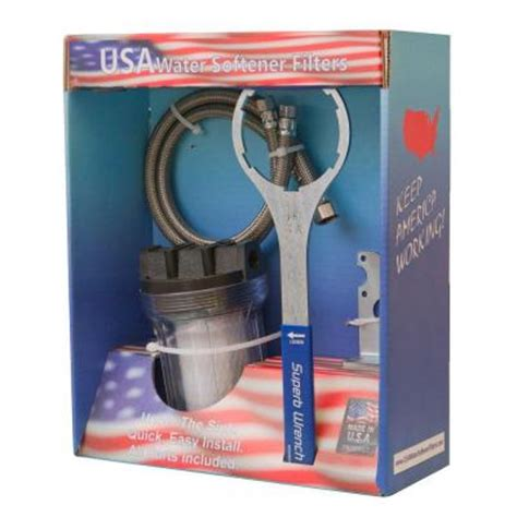 usa water softener filters the sink mounted