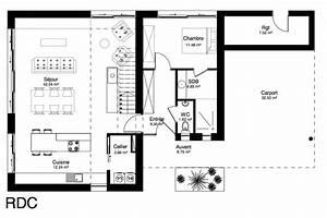 maison cubique 138m2 nord maison archicube With awesome plan de maison cubique 10 la maison cube