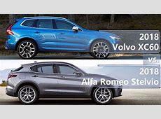 2018 Volvo XC60 vs 2018 Alfa Romeo Stelvio technical