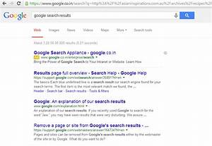 Change In Google Search Results