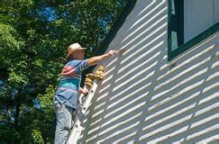 scraping paint   deck royalty  stock images image