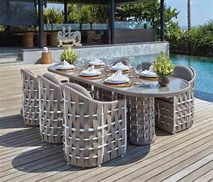 Table Pour Terrasse : tables manger strips pour terrasse et jardin votre magasin online pour meubles de jardin ~ Teatrodelosmanantiales.com Idées de Décoration