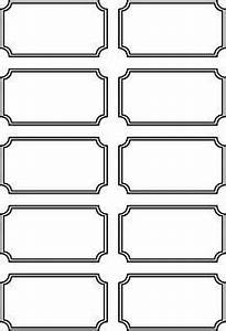 Blank printable ticket stubs - Going to use these as ...
