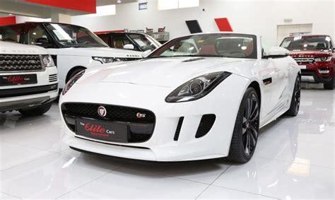 Jaguar F-type 's' Convertible 2015