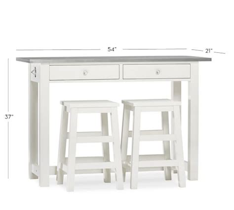 counter height kitchen island table balboa counter height table stool 3 dining set