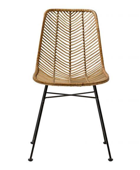 chaise en rotin but bloomingville rattan chair 39 lena quot bloomingville interiors