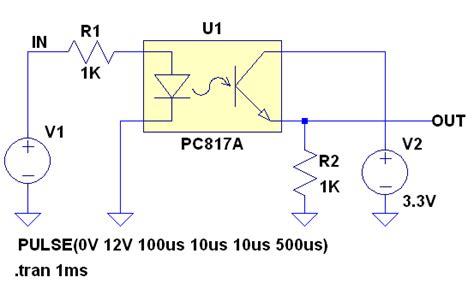 output voltage  pc opto coupler