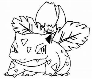 Coloring Pages Pokemon - Ivysaur - Drawings Pokemon