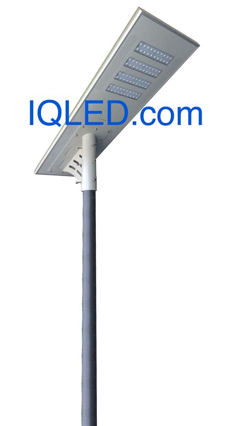 Parking Lot Led Lights by Solar Street Lighting All In One Integrated 8800lm