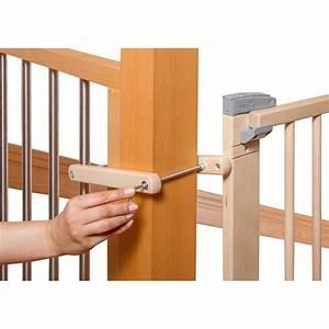 Barriere De Securite Escalier : geuther barri re en bois pour escalier a percer 95 ~ Melissatoandfro.com Idées de Décoration