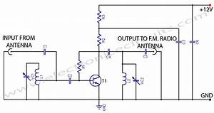 Vhf Uhf Tv Antenna Booster Circuit Diagram