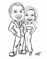 Caricature Couples Stephen Latest Genius Comic sketch template