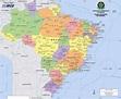 mapa brasil – World Map, Weltkarte, Peta Dunia, Mapa del ...
