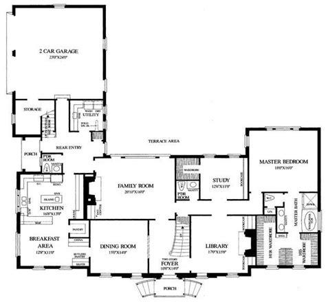 House Plan 7922 00136 Luxury Plan: 4 092 Square Feet 4