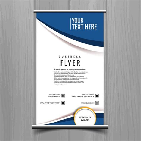 Free Business Flyer Templates by Business Flyer Template Vector Free