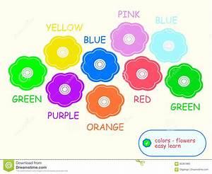 Farben Auf Englisch : kinderlernen farben auf englisch stock abbildung illustration von hintergrund kinder 85367880 ~ Orissabook.com Haus und Dekorationen