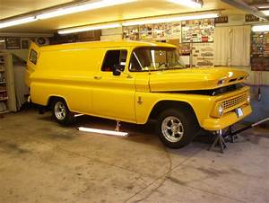 1843  1963 Chevy Panel Truck  454