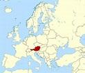 Detailed location map of Austria. Austria detailed ...