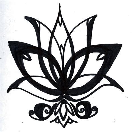 lotus flower  drawing   clip art