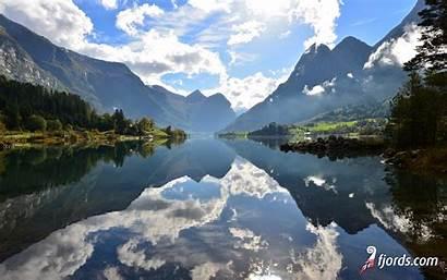 Fjords Wallpapers Norway Norwegian Stryn Lake Western