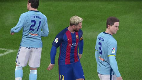 FC Barcelona vs Celta De Vigo - 04/03/2017 - PES 2017 ...
