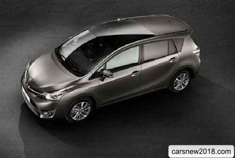 20182019 Toyota Verso  Cars News, Reviews, Spy Shots